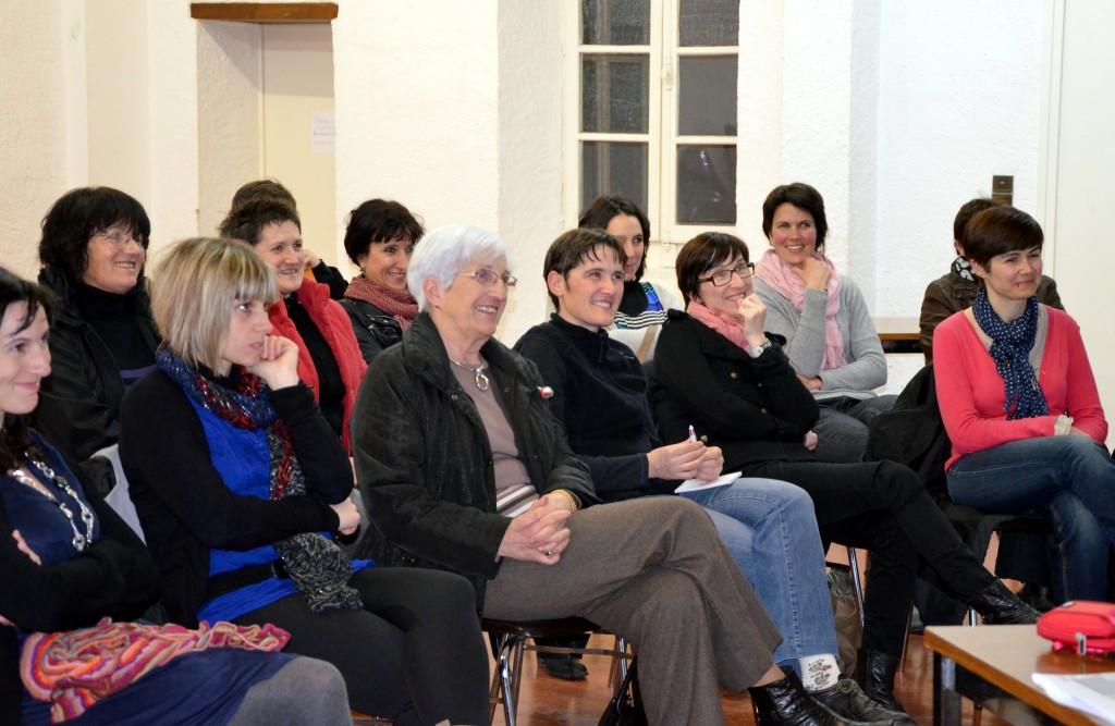 Conférence à Tardets, mars 2013